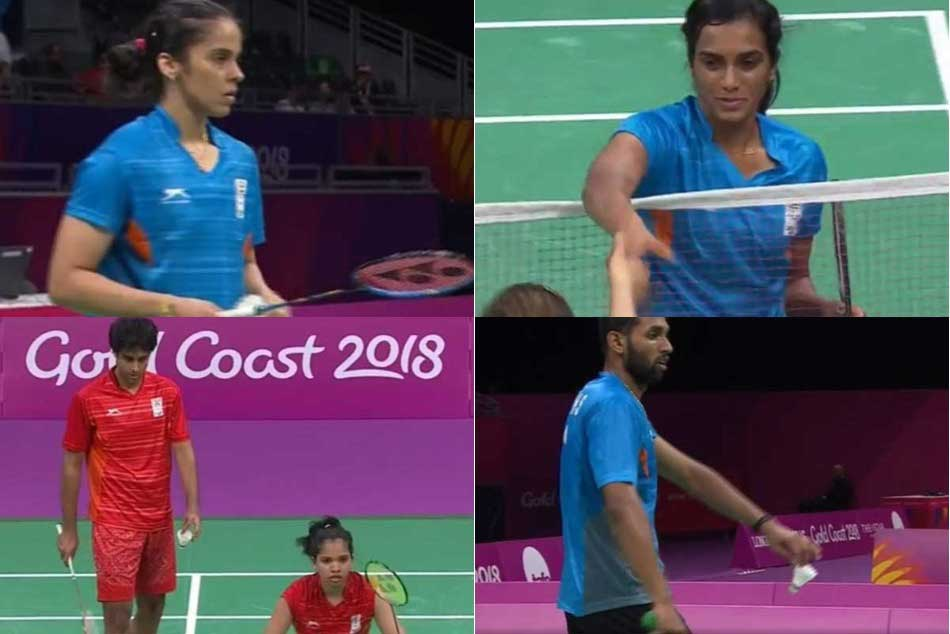 Cwg 2018 Badminton Srikanth Hs Prannoy Pv Sindhu Saina Nehwal Make Semis