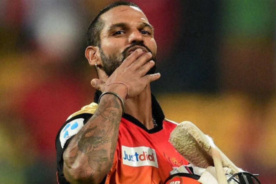 Shikhar Dhawan Expresses His Happiness Receiving Orange Cap For