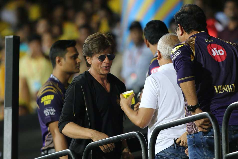 IPL 2018: KKR star Andre Russell dances with Shah Rukh Khan Watch