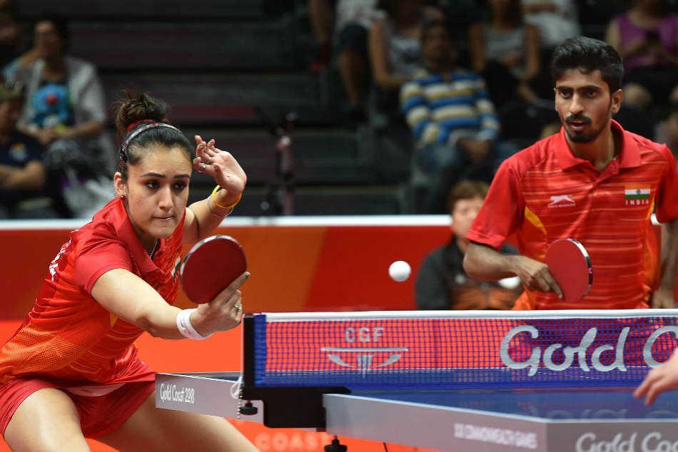 Table Tennis Cwg Stars Manika Batra Harmeet Desai Recommended For Arjuna Award