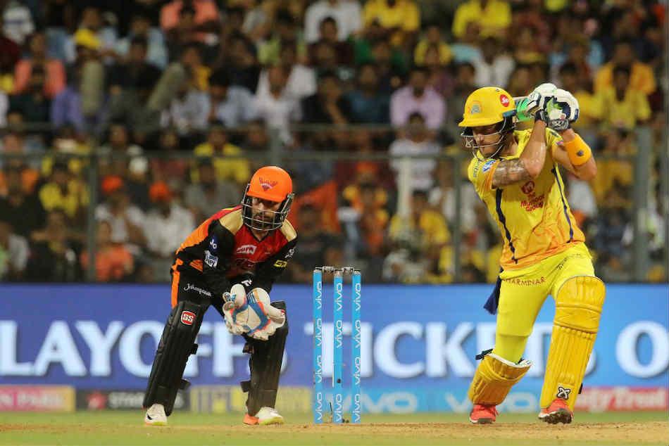 Ipl 2018 Qualifier 1 Csk Vs Srh Live Match Report From Wankhede Stadium Mumbai