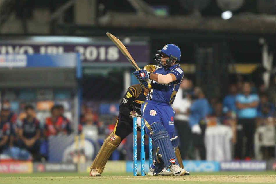 Ipl 2018 Kkrvmi Ishan Kishan Smashes 62 Runs 21 Balls Scores Fastest Fifty For Mumbai Indians