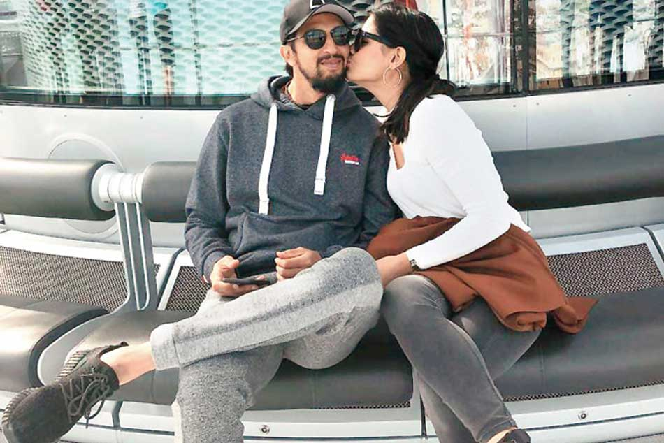 Ishant Sharmas Wife Pratima Showers Him With Love And Kisses In Brighton