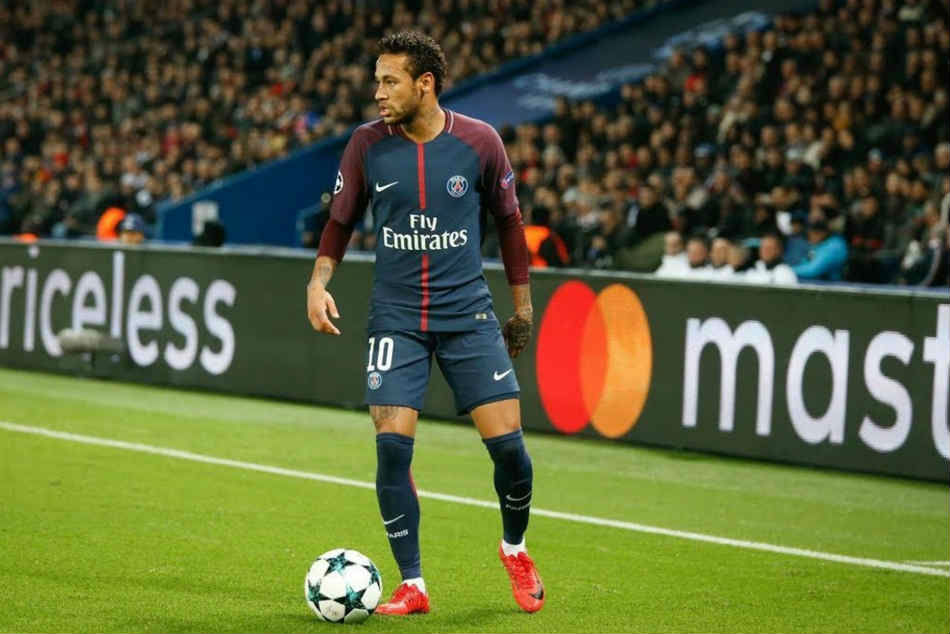 Paris Saint-Germain's Neymar wins France's player of the year, rejects transfer talk