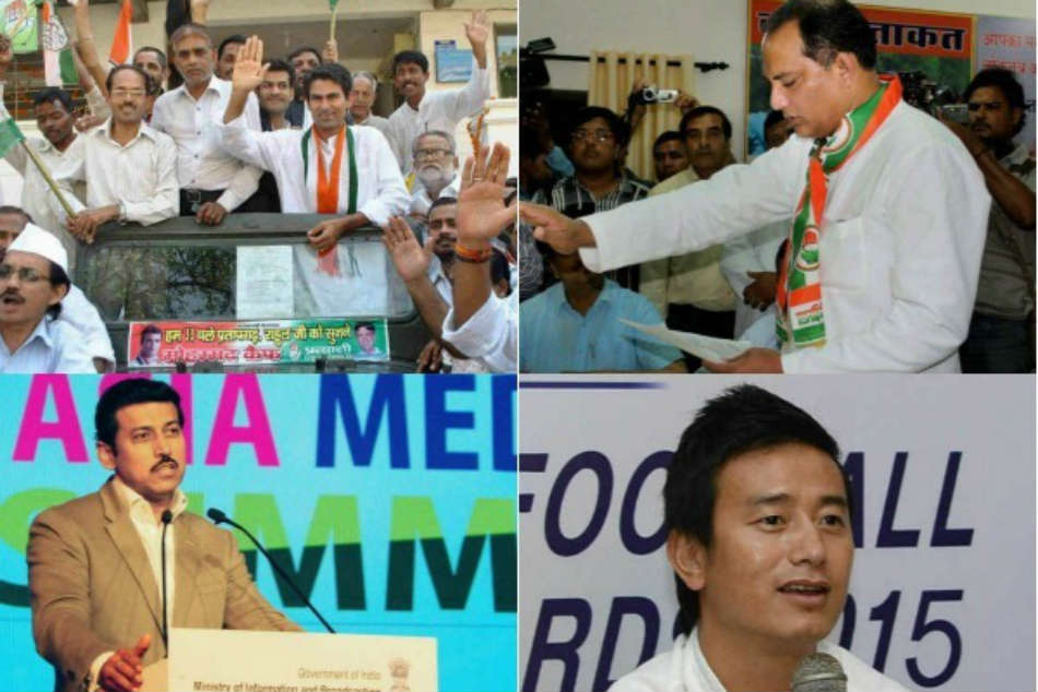 From Karnataka to UP: Sportsmen who turned to politics