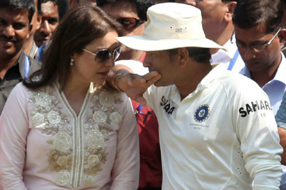 Sachin Tendulkar opens up about the real reason why his wife never came to the stadium to watch his match and its surprising!