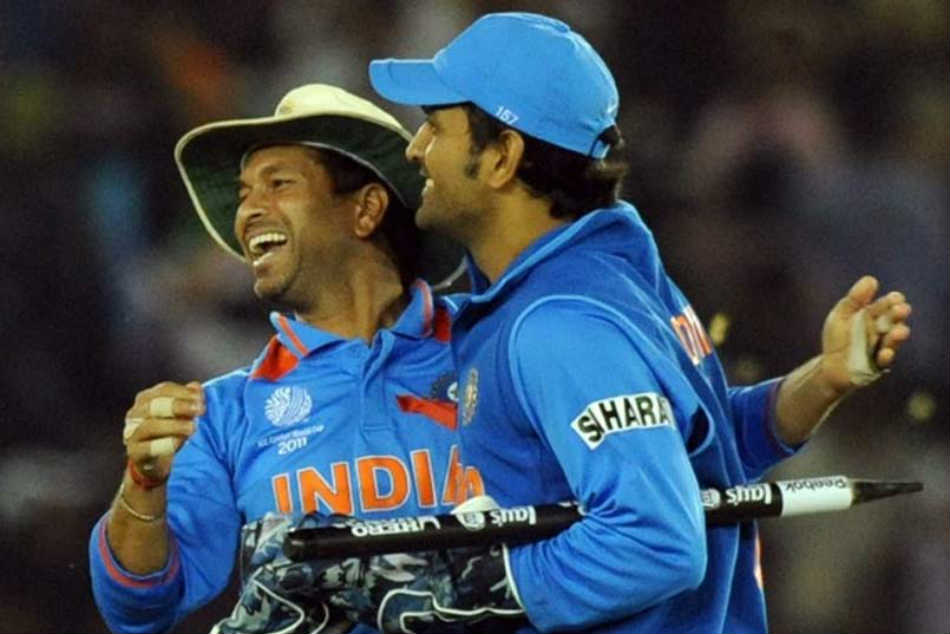 Sachin Tendulkar advised MS Dhoni to bat ahead of Yuvraj Singh in 2011 World Cup final