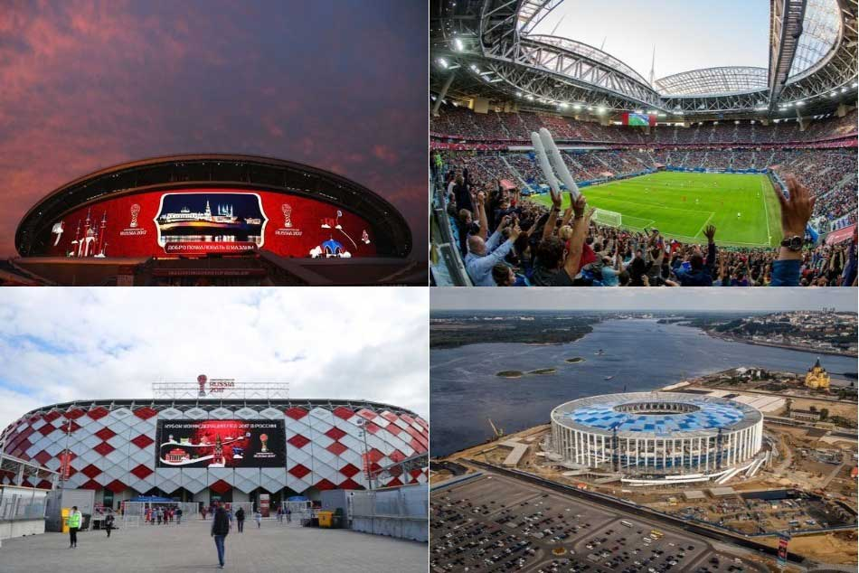 FIFA World Cup: Guide to the 12 stadiums across Russia
