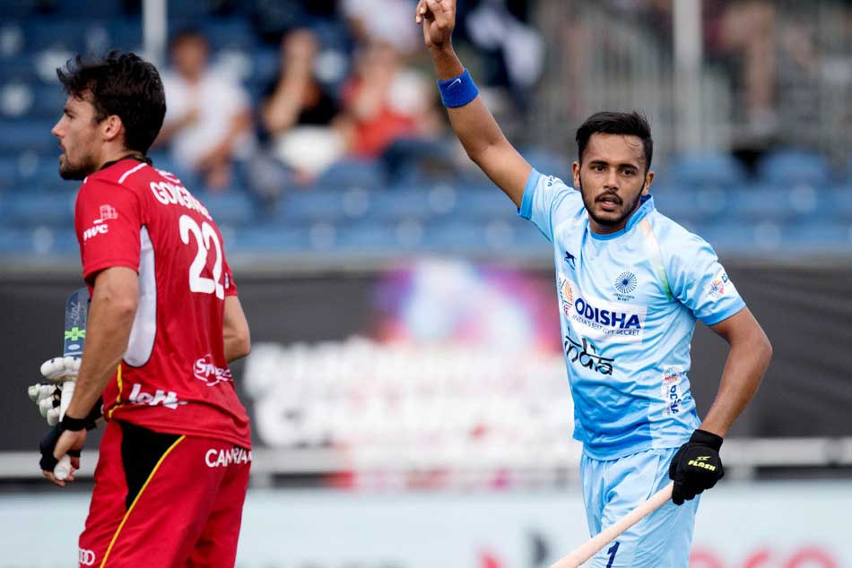 India Concede Late Goal Draw 1 1 With Belgium Champions Trophy