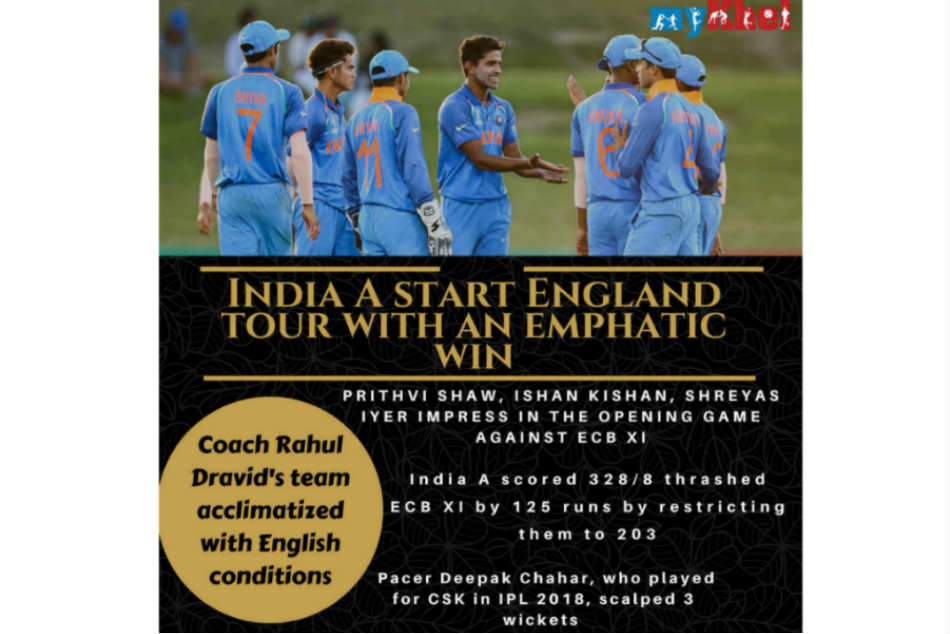 Ipl Stars Prithvi Shaw Deepak Chahar Guide India To Victory In England