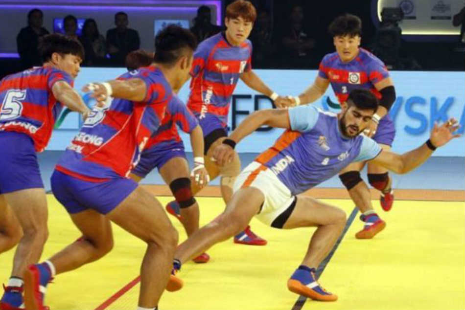 India Thrash South Korea Face Iran Kabaddi Masters Final
