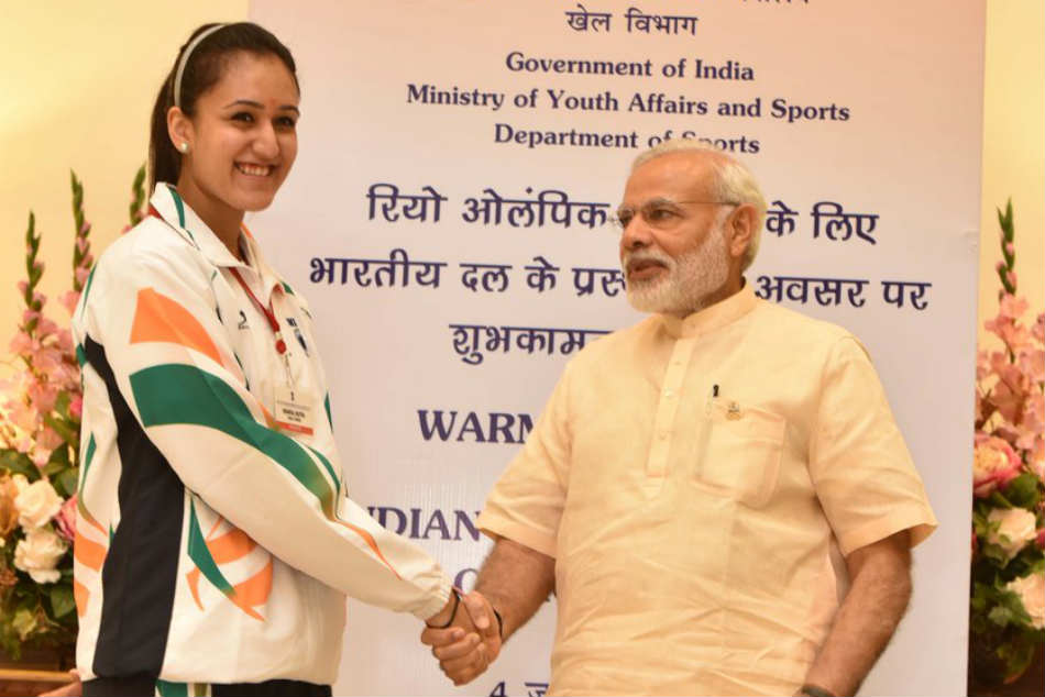 Manika Batra gave this answer on PM Modis fitness challenge ...