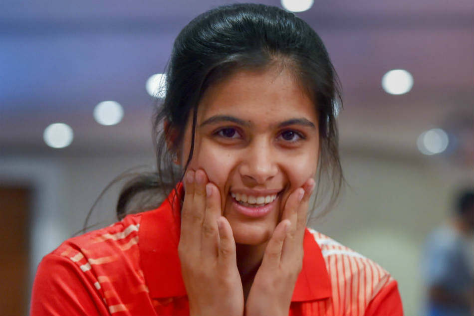 Manu Bhaker wins gold in 10M air pistol in ISSF Junior World Cup