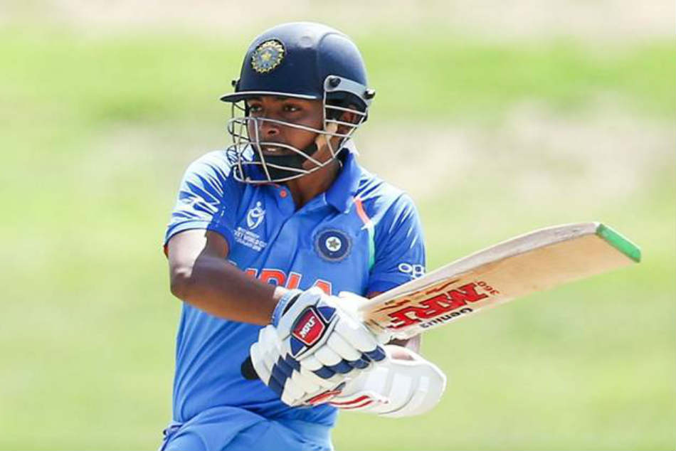 Prithvi Shaw Mayank Agarwal Blast Tons As India Beat Leicestershire By 281 Runs