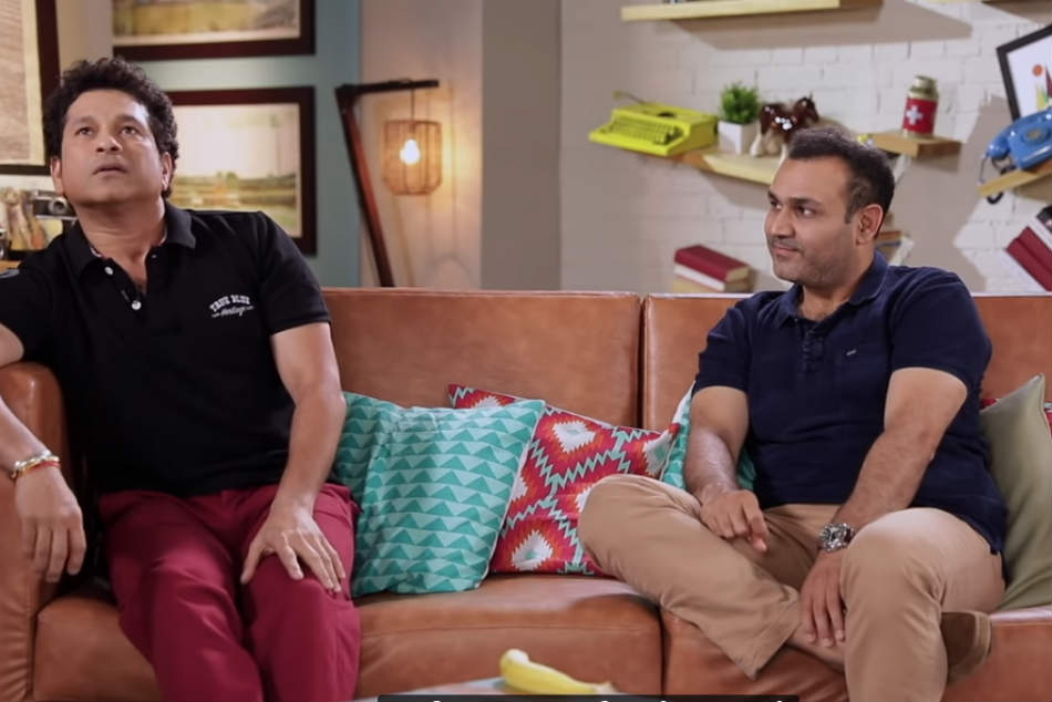 Sachin Tendulkar tells how he opened up a shy Virender Sehwag, made him eat chicken