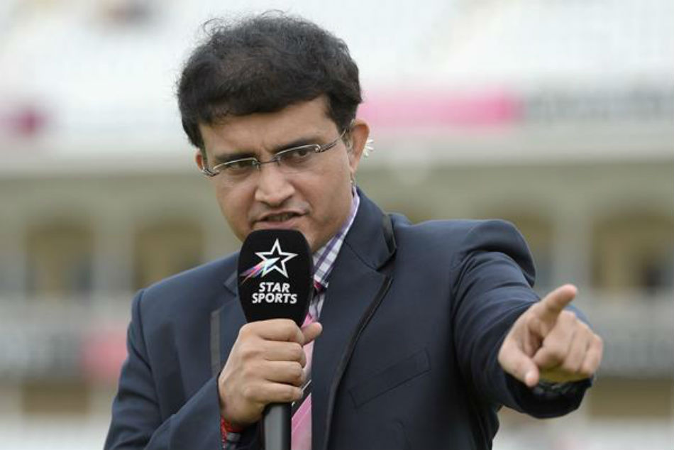 India Will Be Favourites England Predicts Sourav Ganguly