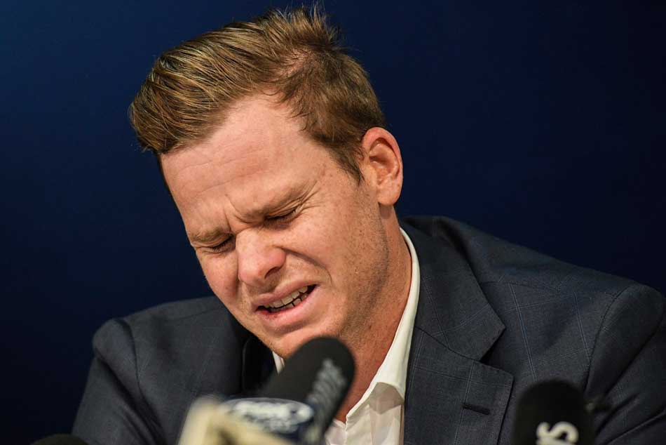 I Cried Four Days Steve Smith Opens Up About Ball Tampering Scandal