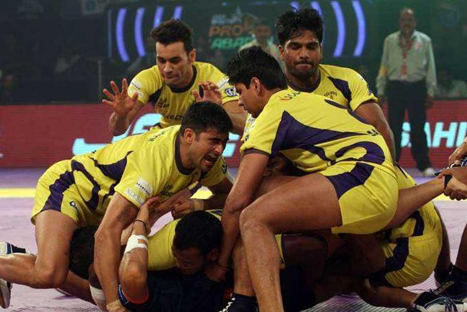 Pro Kabaddi League Telugu Titans Final Squad Auction 2018