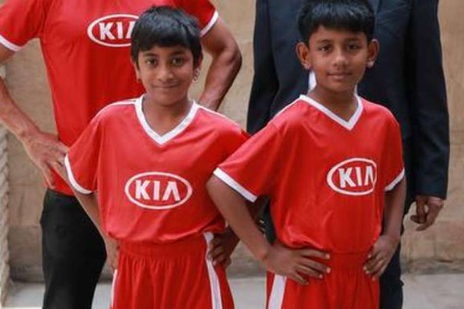 Two Indian kids to be Official Match Ball Carriers at FIFA World Cup