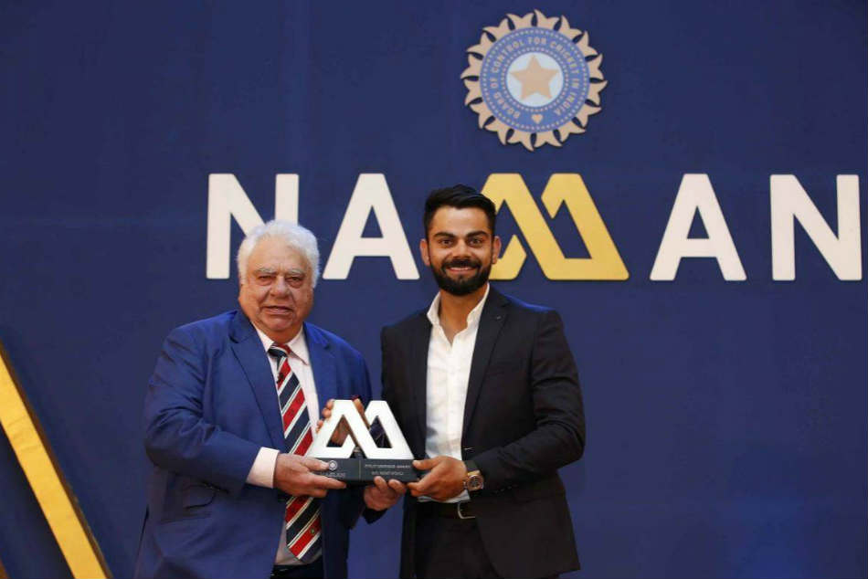 Virat Kohli Set Receive The Polly Umrigar Award The Best International Cricketer