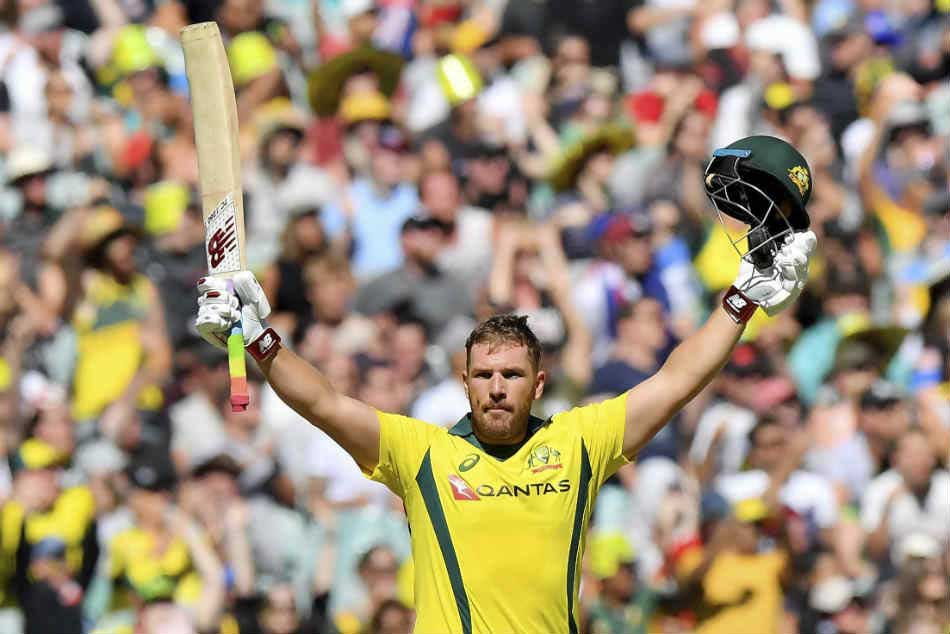 Aaron Finch Scores 172 Off 76 Balls Highest T20i Individual Knock