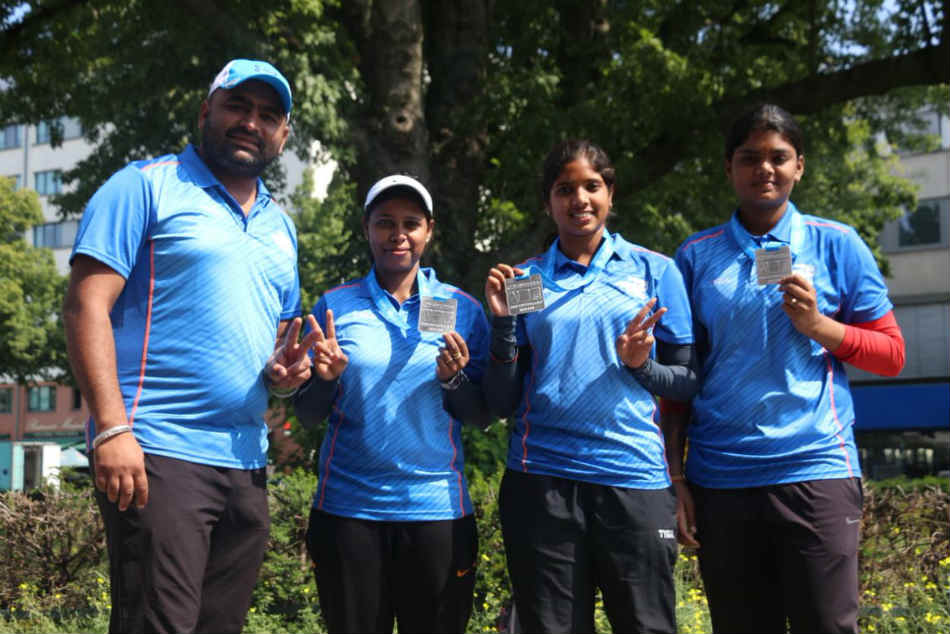 Indian womens Compound Archery team scripts history