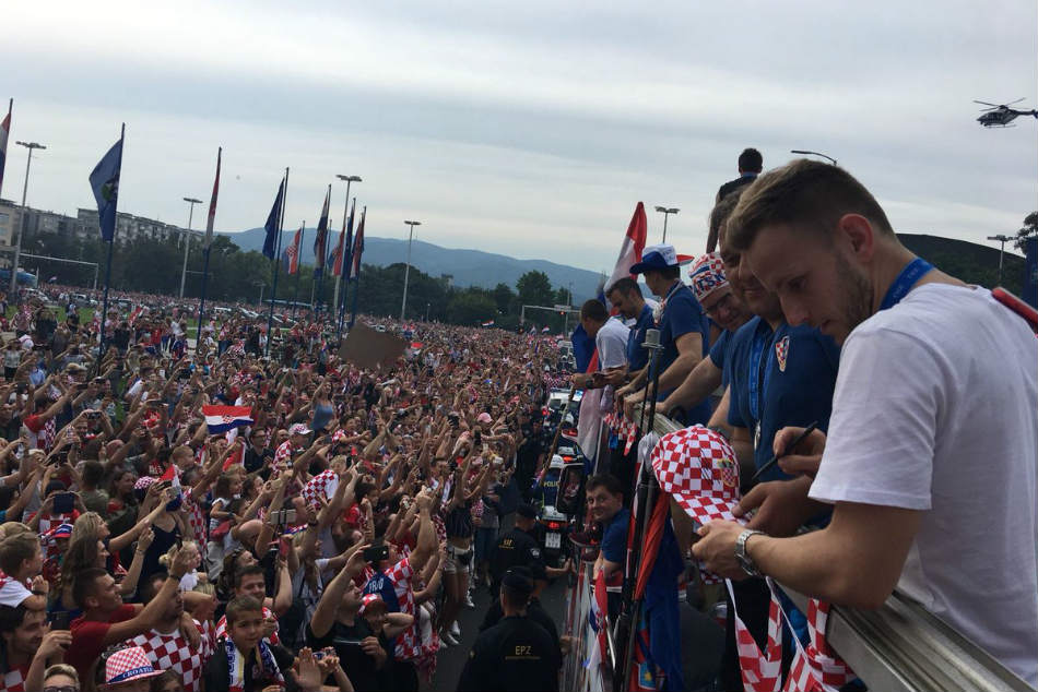 Grand Welcome The Croatian Heroes As They Return Home