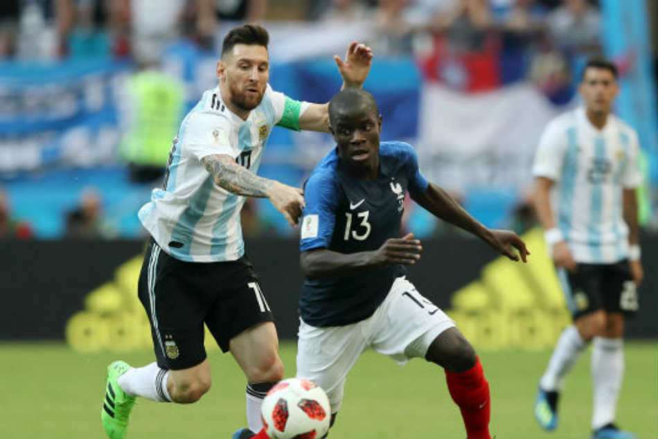 Deschamps back Kante to stifle Belgium after smothering Messi