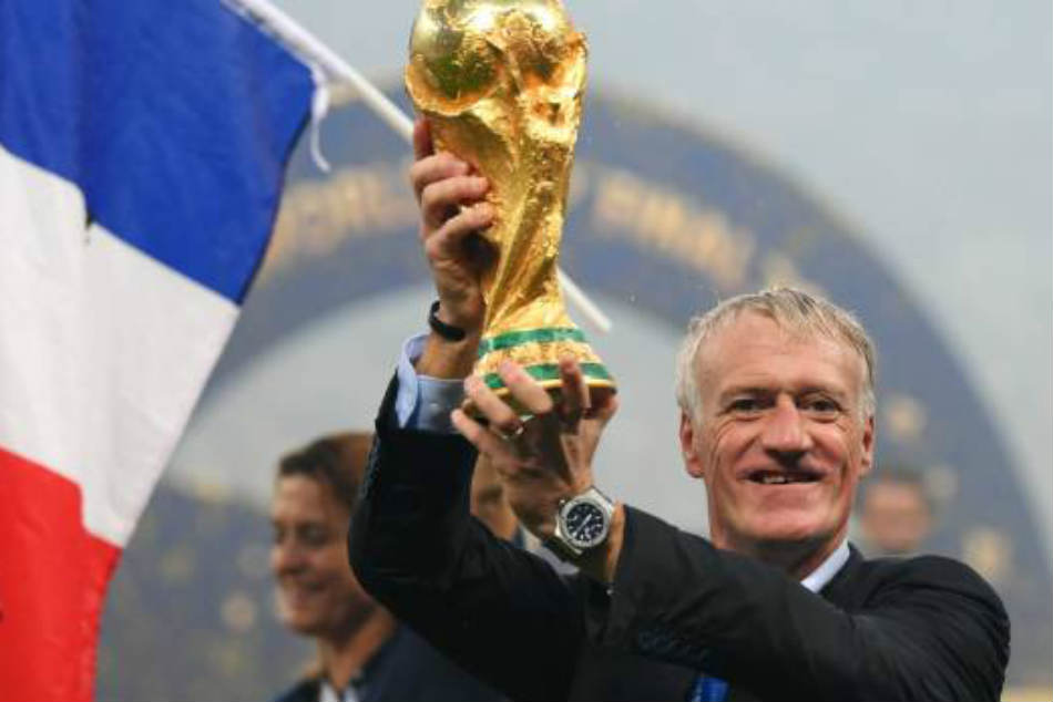France S Didier Deschamps Joins World Cup Legends As Champion Player And Coach