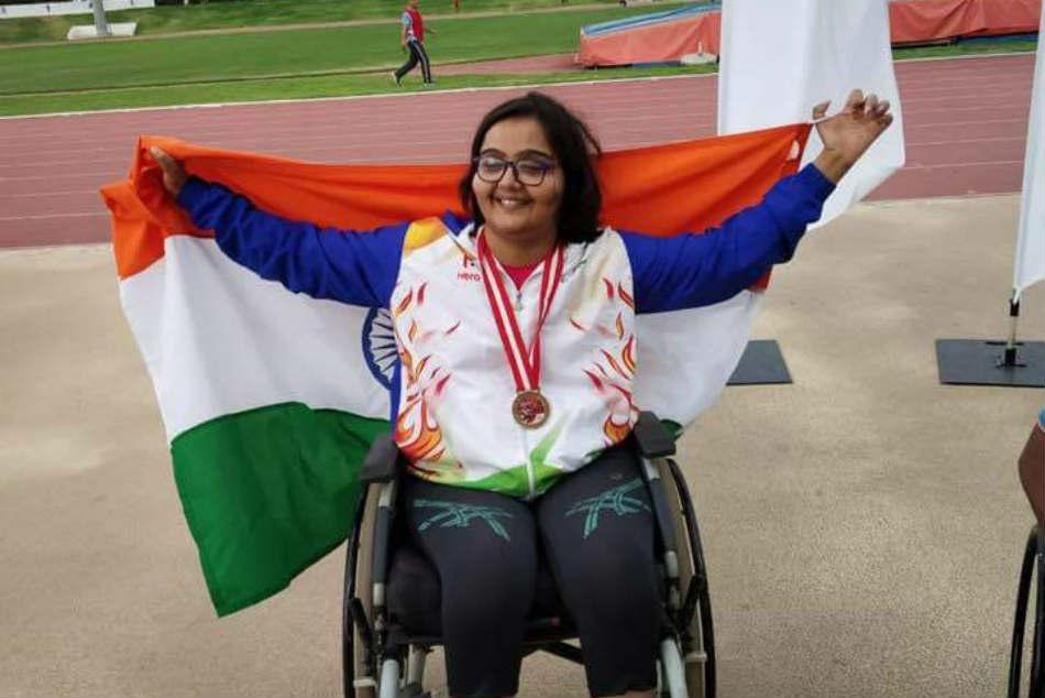 Ekta Bhyan Has One Gold Medal One Bronze Medal At World Para Athletics Grand Prix At Tunisia