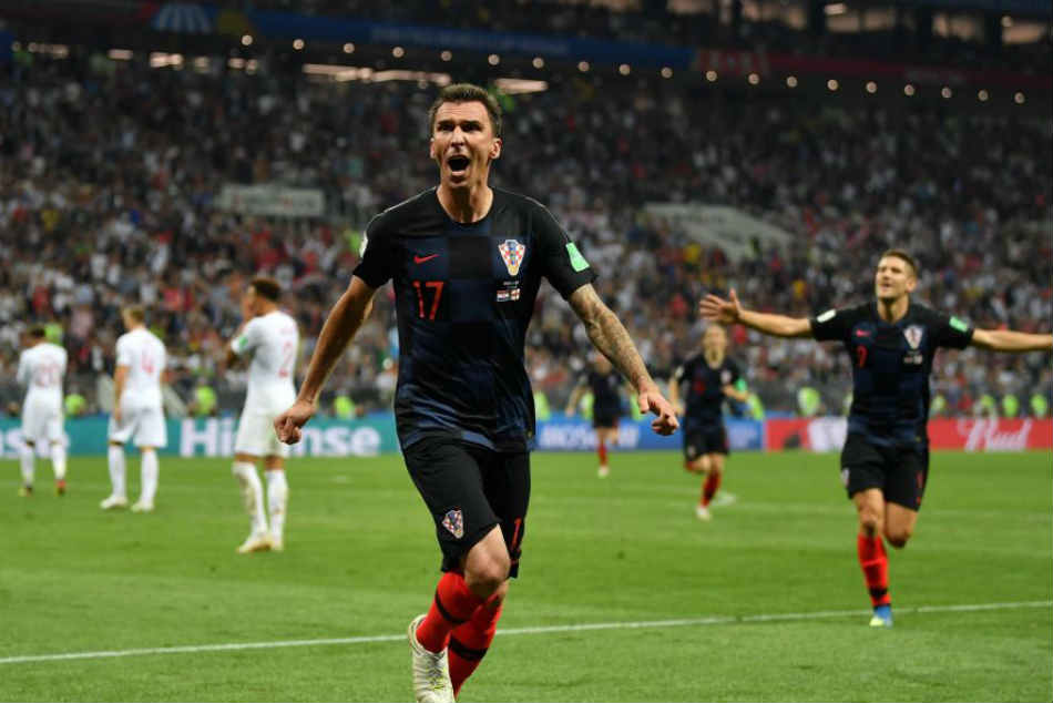 FIFA World Cup 2018: England 1 - 2 Croatia - Mandzukic goal sets up Croatia final with France