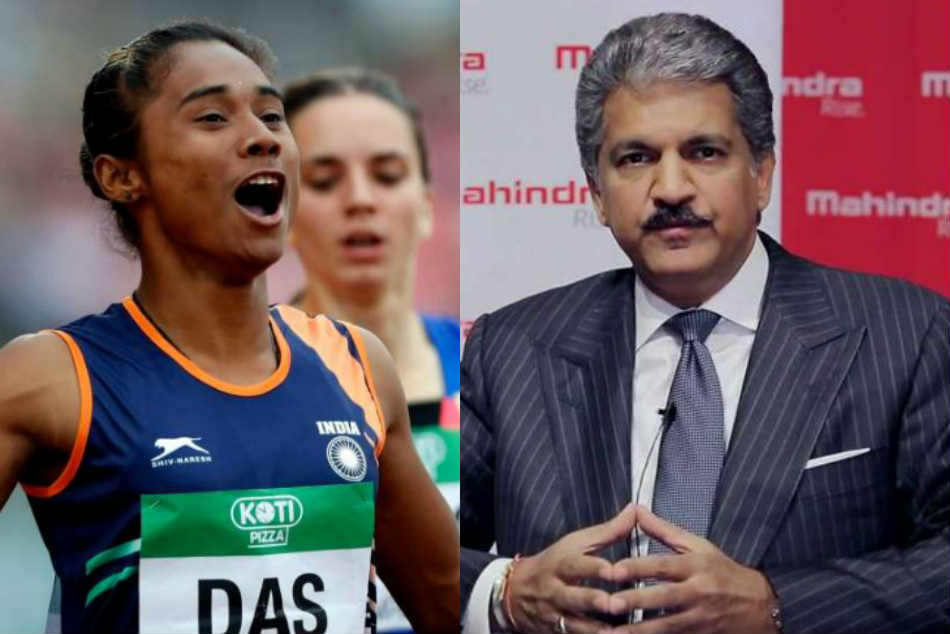 Anand Mahindra Offers Financial Support Sprinter Hima Das