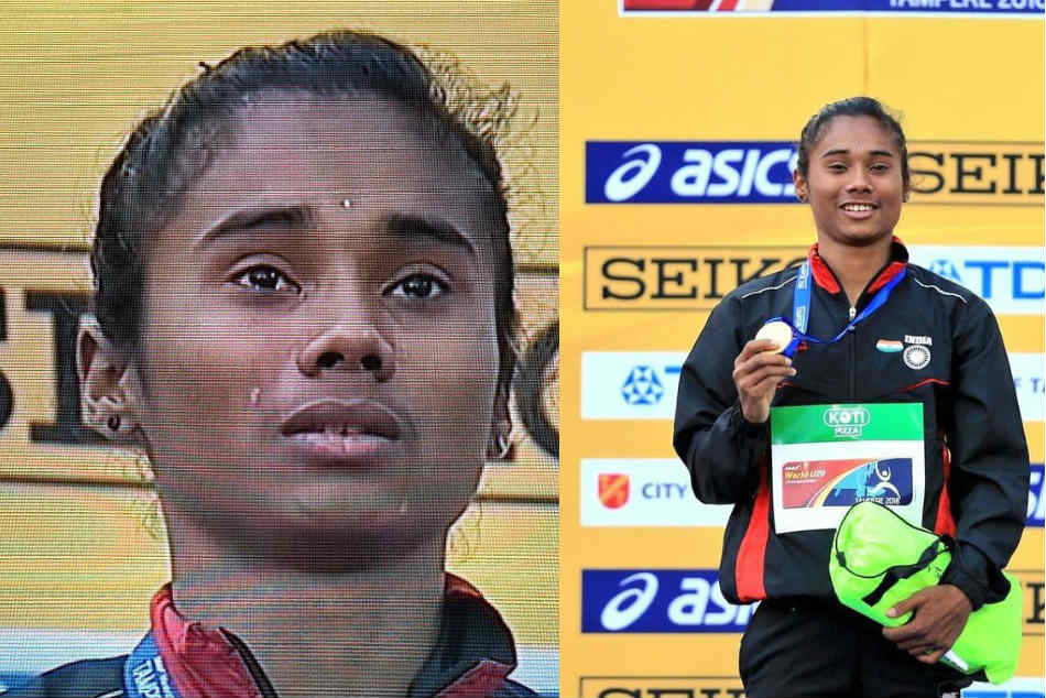 Hima Das Golden Run At Iaaf Event Hailed Narendra Modi Sachin Tendulkar And Amitabh