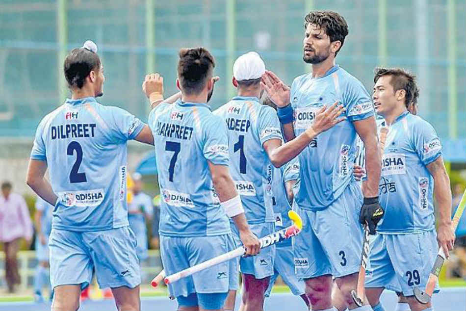 India Beat New Zealand 4 0 Third Hockey Test Complete Series Whitewash