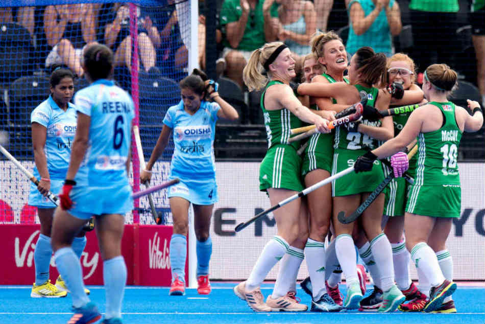 Womens Hockey World Cup 2018: India lose 0-1 to Ireland; Anna OFlanagan scores only goal of game