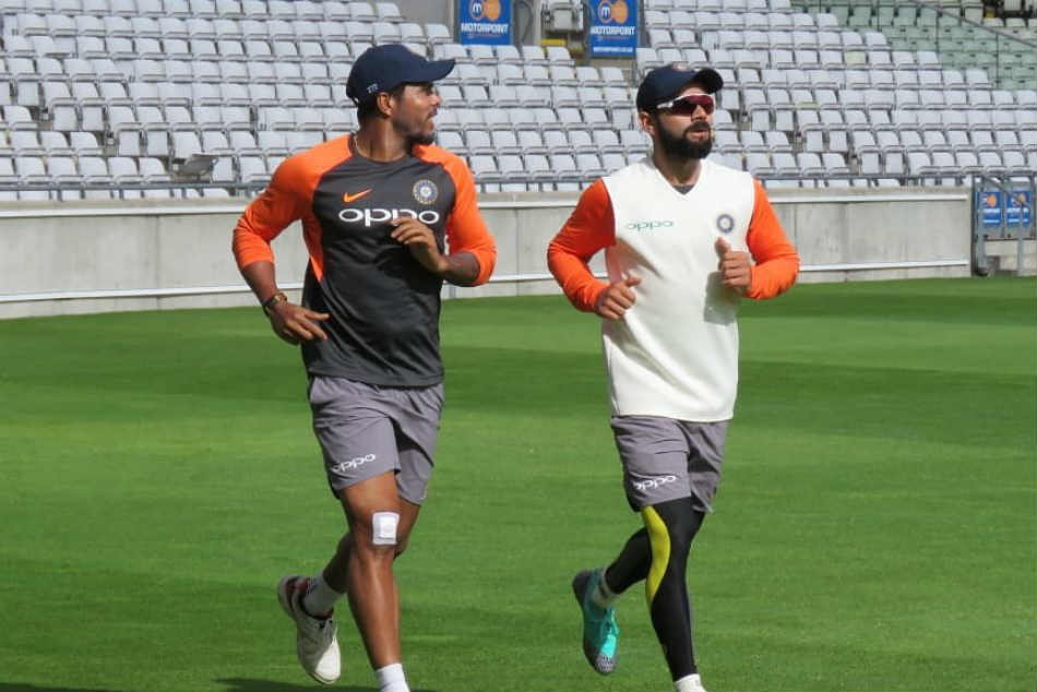 Virat Kohlis Team India make the most of sunny day in Birmingham
