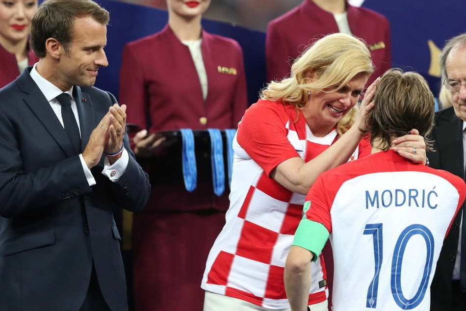 See Pics Croatian President Kolinda Grabar Kitarovic Wins The Internet With Her Celebration At World