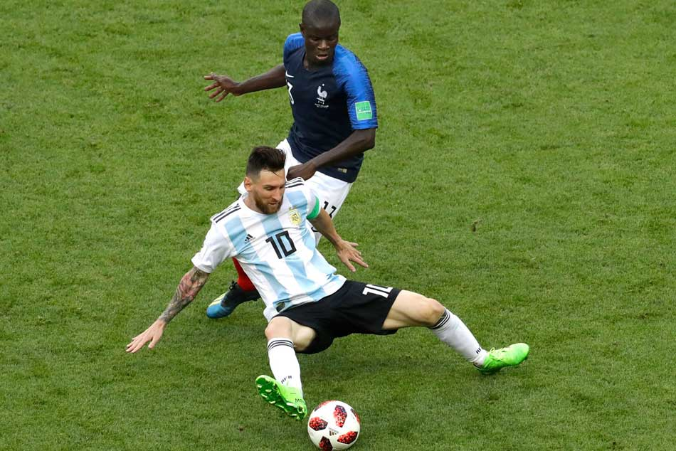 Fifa Wc 2018 Kylian Mbappe Destroys Argentina Send Lionel Messi And Co Home