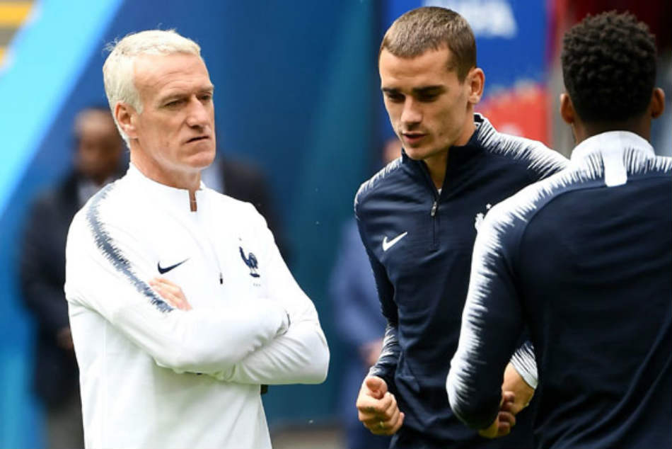 Coach Didier Deschamps hails players as France head to 2018 World Cup final