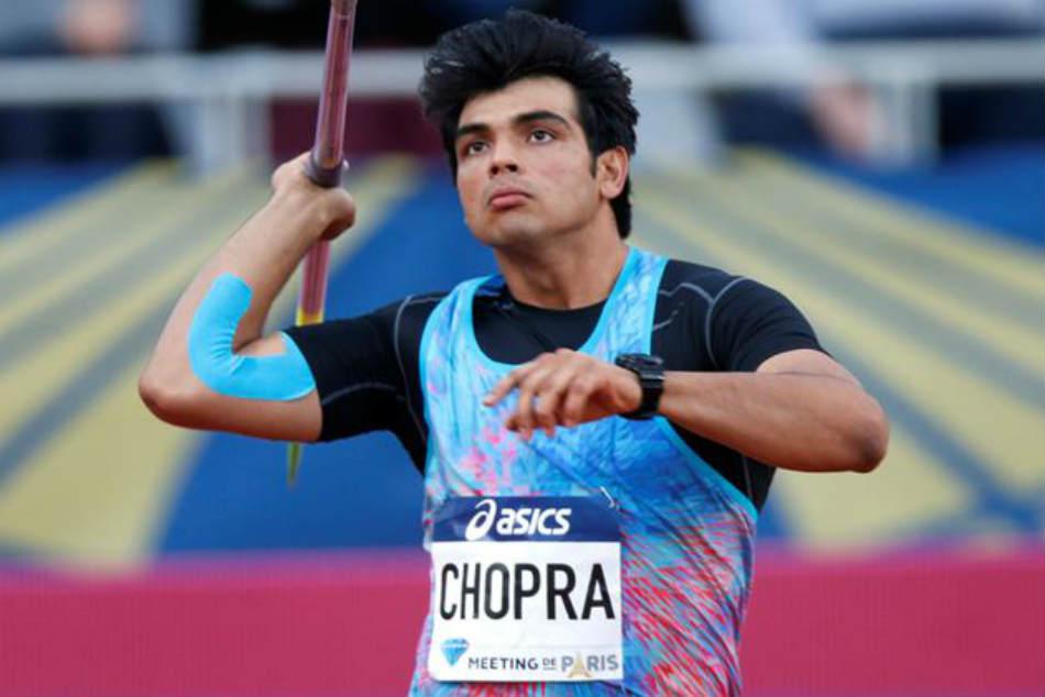 Javelin Neeraj Chopra Wins Gold At Sotteville Athletics Meet
