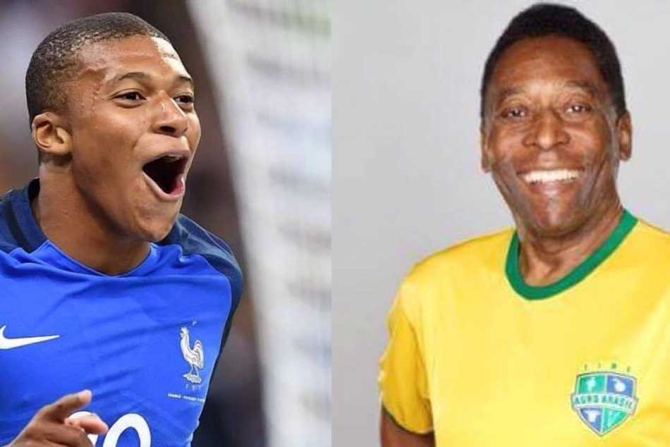 Is Mbappe following in the footsteps of Pele?