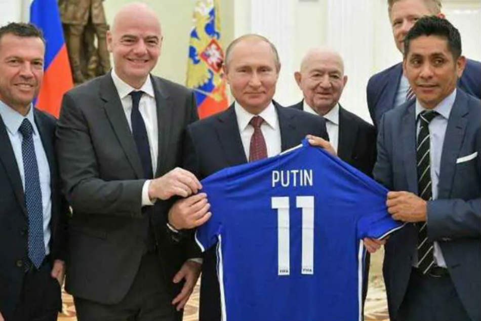 Vladimir Putin Gives World Cup Fans Visa Free Russia Entry Year