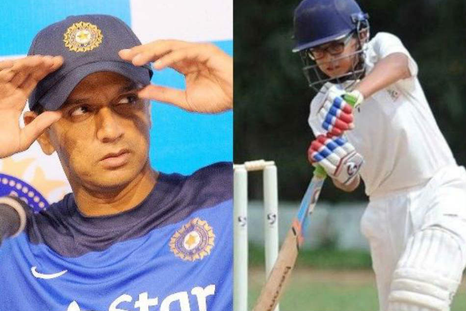 Rahul Dravids son Samit produces match-winning display with unbeaten fifty, three-wicket haul at U-14 level