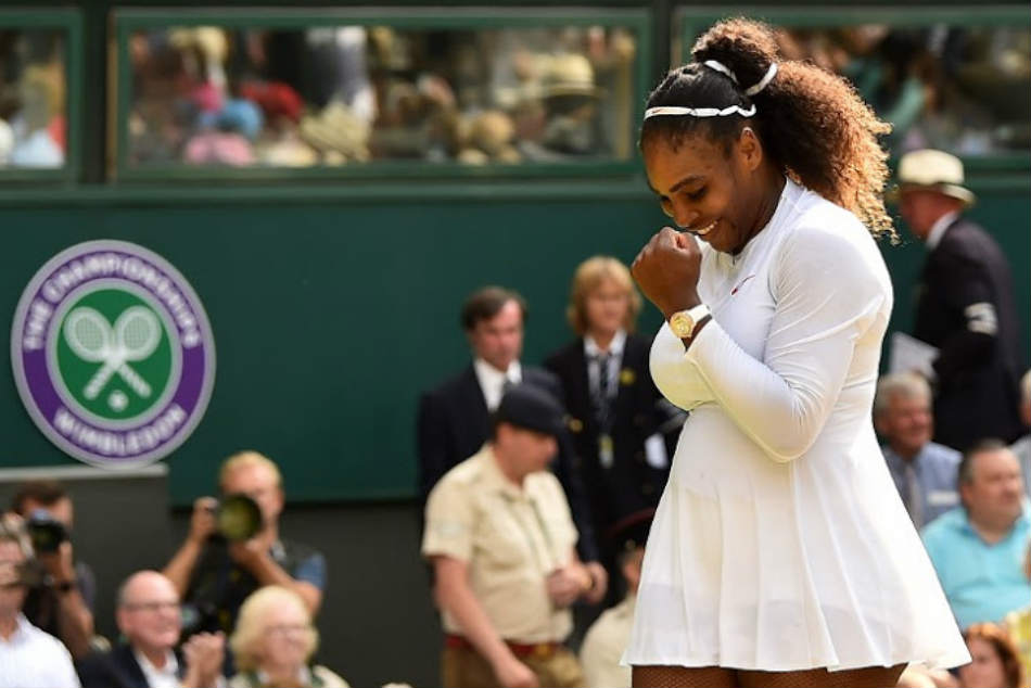 Its as if Wimbledon finalist Serena Williams never left the game at all