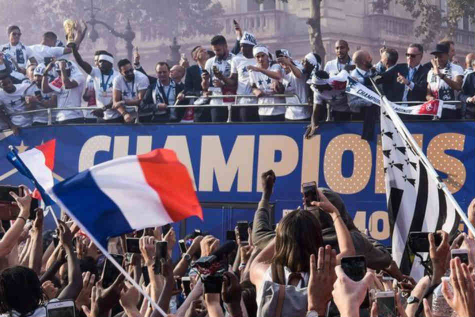World Cup France Welcomed Hundreds Thousands Supporters