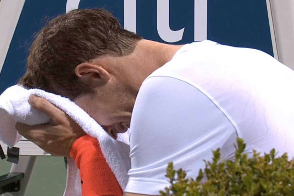 Olympic winner Andy Murray weeps like a baby on reaching Citi Open quarters