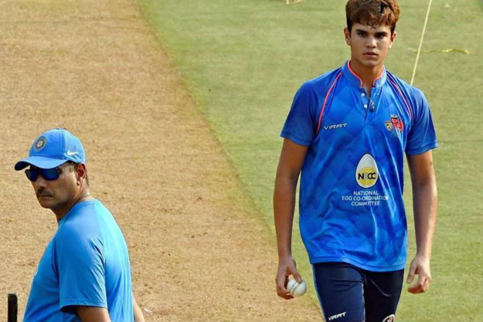 India vs England: Arjun Tendulkar bowls to Virat Kohli at Lord's - Watch video