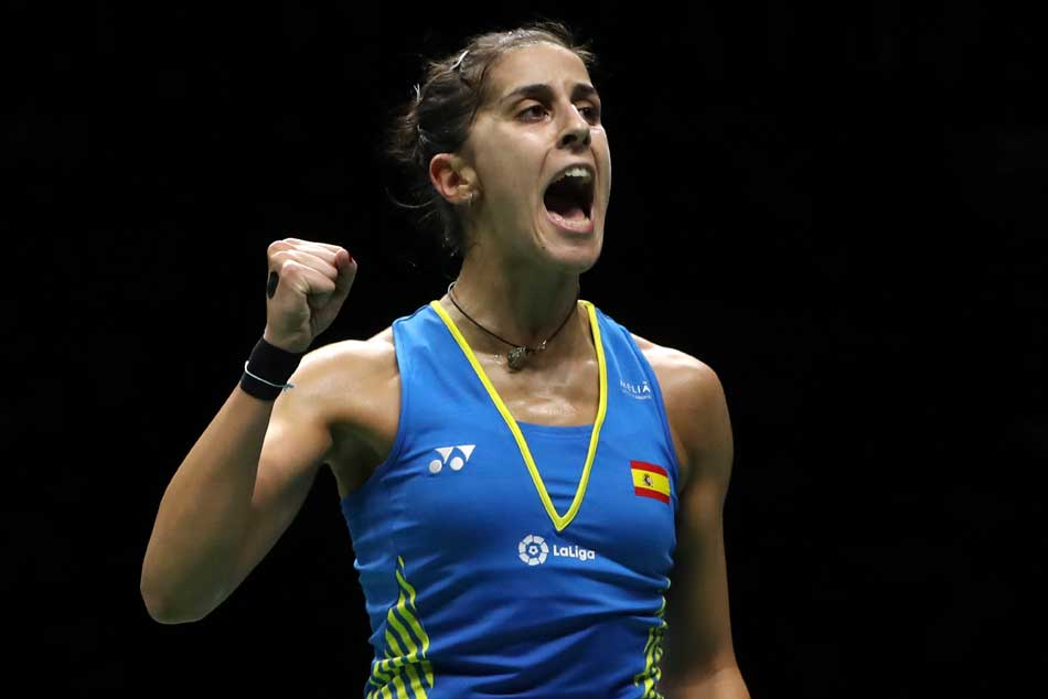 I Told Myself Pv Sindhu Is Leading I Have Fight Says Carolina Marin