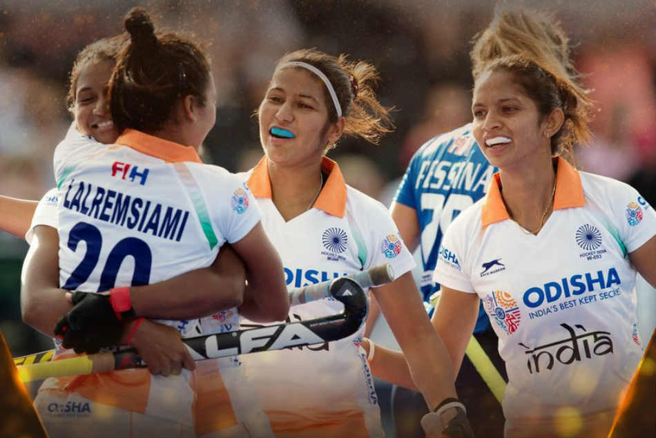 Clinical India Beat Italy 3 0 Enter Women S Hockey World Cup Quarter Finals
