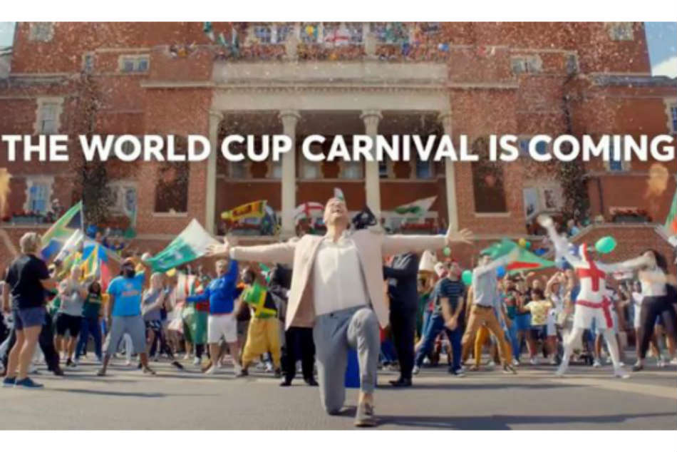 VIDEO: Andrew Flintoff On top of the world in ICC World Cup 2019 promo
